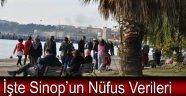 İşte Sinop'un Nüfus Verileri !!!