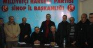 MHP Ortak Basın Toplantısı Düzenledi
