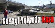 Sanayi Yolunda Trafik Kazası!
