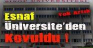 Sinop Üniversitesinde İlginç Olaylar !!!