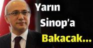 Kalkınma Bakanı Yarın Sinop'a Bakmaya Geliyor