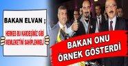 Bakan Elvan; Herkes Bu Kardeşimiz Gibi Olmalı