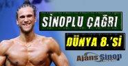 Sinop'lu Çağrı Duran  Dünya 8.'si