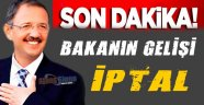 Bakan Özhaseki'nin Sinop Ziyareti İptal Edildi