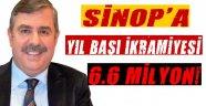 Sinop'a Yılbaşı İkramiyesi!