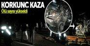 Samsun Sinop Karayolunda Feci Kaza 2 Ölü