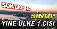 Sinop O Nüfusta Türkiye 1.cisi