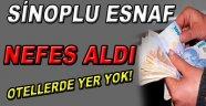 Sinop'lu Esnaf Nefes Aldı