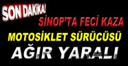 Sinop'ta Feci Kaza 1 Yaralı