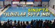 Sinop'ta Yıldızlar Suya İndi