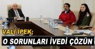 Vali İpek, Halkın Taleplerini Pür Dikkat Dinledi