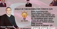 Yüksek; 'Güçlü ve tam bağımsız bir Türkiye için 'Evet' diyoruz'