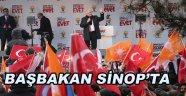 Başbakan Sinop'ta!