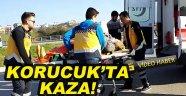 Korucuk'ta Trafik Kazası!