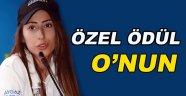 Sinop'lu Hancı'ya Özel Sporcu Ödülü!