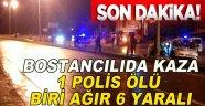 Sinop'ta Trafik Kazası 1 Ölü, 6 Yaralı!