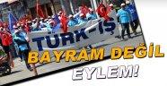 Sinop'ta Eylem Havasında 1 Mayıs