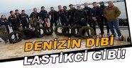 Sinop'ta deniz dibi temizliği