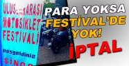 Motosiklet Festivali İptal edildi