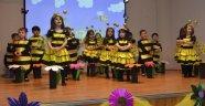 Deniz Yıldızları Anaokulu Öğrencilerinden Renkli Yıl Sonu Etkinliği