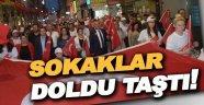 Sinop Sokakları Doldu Taştı!