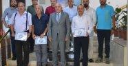 Vali İpek'ten STK'lara teşekkür belgesi