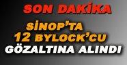 Sinop'ta 12 Bylock'cu Gözaltına Alındı!