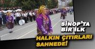 Bayram kutlamalarına Folklor ekibi damgasını vurdu