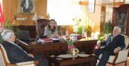 Meclisten Bayan Valiye Ziyaret