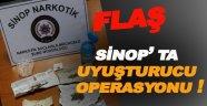 Sinop'ta uyuşturucu operasyonu 11 Gözaltı var!