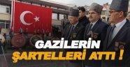 Anma programına Gazilerin tepkisi damgasını vurdu