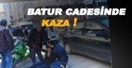 Batur caddesinde kaza, 1 yaralı