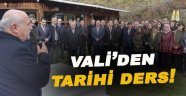 Vali Hasan İpek'ten Tarihi Ders!