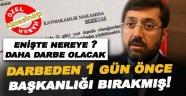 CHP'li Başkan darbeden 1 Gün önce başkanlığı bırakmış!