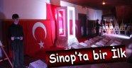 Sinop'ta Bir İlk, Cami Avlusunda Çanakkale Minyatürü