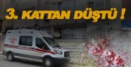 Sinop'ta 3. Kattan düşen vatandaş yaralandı!