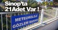Sinop Meteoroloji Müdürlüğü çalışmaları