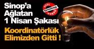 Elektrik Koordinatörlüğü Sinop'tan Alındı !