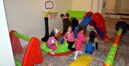Sinop'ta camide çocuk oyun parkı oluşturuldu