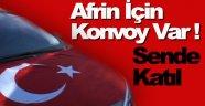 Sinop'ta Afrin'e Destek İçin Konvoy Düzenlenecek