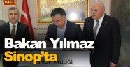 Milli Eğitim Bakanı Yılmaz Sinop'ta
