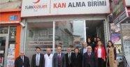 Sinop'ta Sağlıkçılar Toplu Olarak Kan Bağışında Bulundu