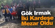Sinop'ta ırmağa giren 3 kardeşten 2'si boğuldu