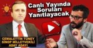 """AK Parti'nin Sürpriz Aday Adayı Tüney, """"Söz Sende""""ye Konuk Olacak !"""