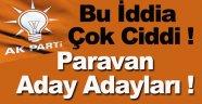 AK Parti'de Paravan Aday Adayı İddiası