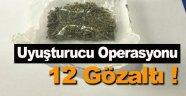 Sinop ve Samsun'da uyuşturucu operasyonu