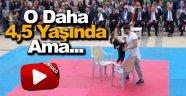 Minik Eylül'ün Performansı 19 Mayıs Kutlamalarına Damga Vurdu