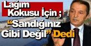 Başkan Ergül, Lağım Kokusu İçin Konuştu !
