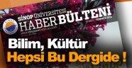 Sinop Üniversitesi Haber Bülteni'nin 16. Sayısı Okuyucusuyla Buluştu