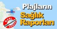 İşte Sinop Plajlarının Sağlık Raporları !